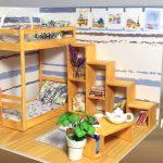 Dollhouse | Hướng dẫn làm phòng ngủ giường hai tầng