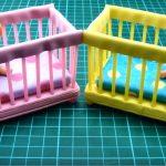 Dollhouse   Hướng dẫn làm giường cũi cho baby