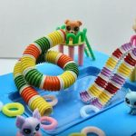 Doll Mini | Hướng dẫn cách làm hồ bơi mini đơn giản