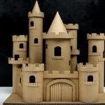 Hướng dẫn làm tòa lâu đài phố từ bìa giấy carton