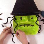 Hướng dẫn làm mặt nạ quỷ trang trí halloween