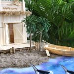 Hướng dẫn làm nhà hải tặc cướp biển và thuyền từ que kem gỗ