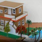 Hướng dẫn làm nhà hai tầng có hồ bơi cực đơn giản
