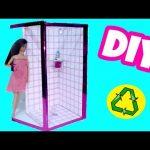 Hướng dẫn cách làm nhà tắm từ giấy carton