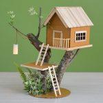 Hướng dẫn cách làm nhà trên cây từ que kem gỗ