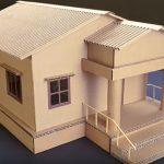 Hướng dẫn làm nhà đơn giản từ bìa carton