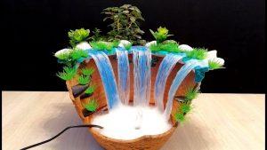 cách làm thác nước từ keo nến