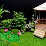 Hướng dẫn làm túp lều sân vườn từ que kem gỗ