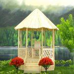 Hướng dẫn làm túp lều đơn giản từ tăm tre