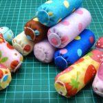 Dollhouse   Hướng dẫn cách làm gối ôm từ vải nỉ