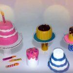 Hướng dẫn làm combo bánh sinh nhật