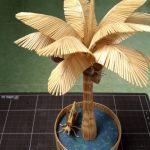 Hướng dẫn cách làm cây dừa siêu đẹp từ tăm tre
