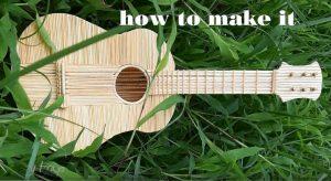 hướng dẫn làm đàn guitar