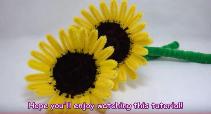 hướng dẫn làm hoa hướng dương