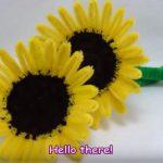Doll Mini | Hướng dẫn cách làm hoa hướng dương