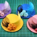 Doll Mini | Hướng dẫn làm mũ từ giấy cứng