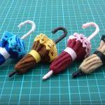 Doll Mini | Hướng dẫn làm ô đơn giản từ vải nỉ