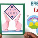 Hướng dẫn gấp chú thỏ trang trí tấm thiệp origami
