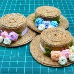 Doll Mini | Hướng dẫn làm mũ mini từ dây thừng