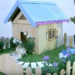 Hướng dẫn cách làm nhà vườn cho chuột hamster từ que kem gỗ