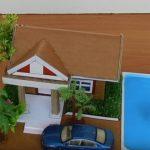 Hướng dẫn làm nhà mái ngói có bể bơi