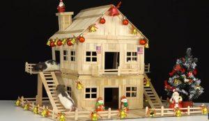 làm nhà cho chuột hamster