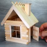 Hướng dẫn làm ngôi nhà nhỏ từ que kem gỗ