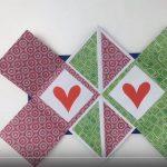 Hướng dẫn gấp tấm thiệp siêu đẹp từ giấy origami