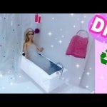 Hướng dẫn cách làm bồn tắm và rèm che handmade