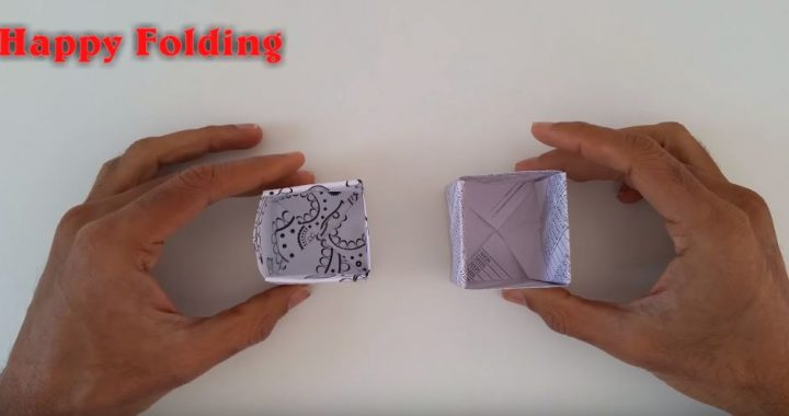 cách làm hộp đựng kẹo từ giấy