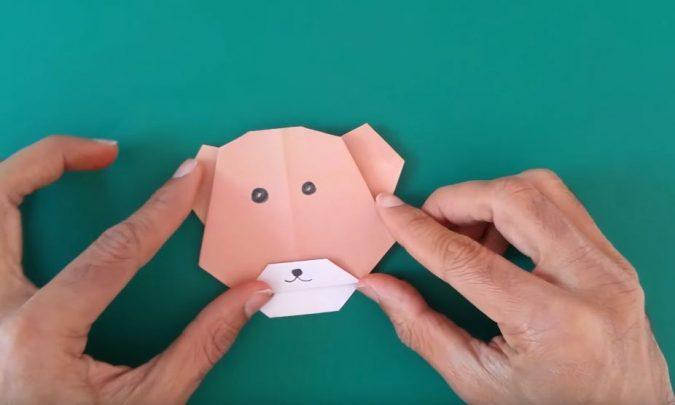 cách làm khuôn mặt hình con gấu