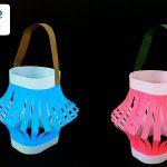 Hướng dẫn cách làm chiếc lồng đèn từ giấy
