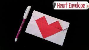 cách làm thiệp hình trái tim valentine