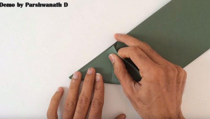cách làm xe tăng từ giấy